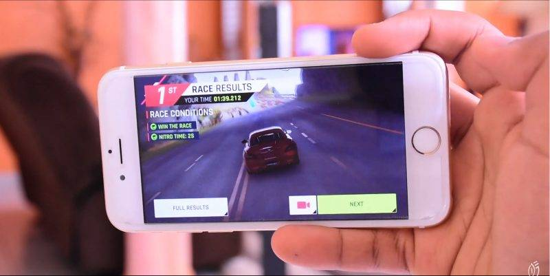iPhone 6S - gaming