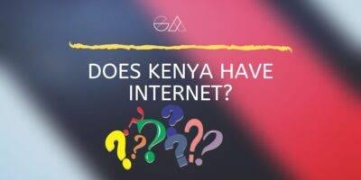 Does Kenya have internet