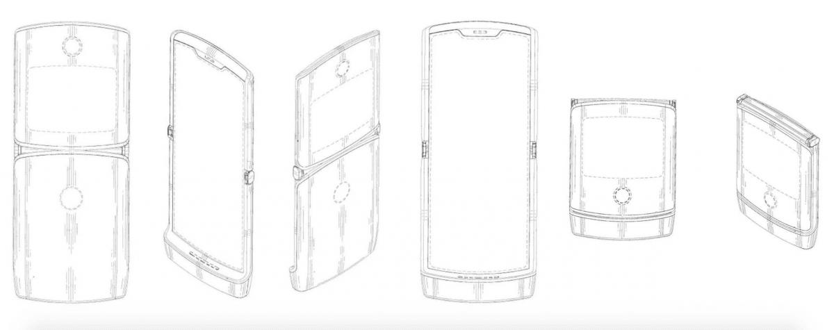 Motorola RAZR mockups