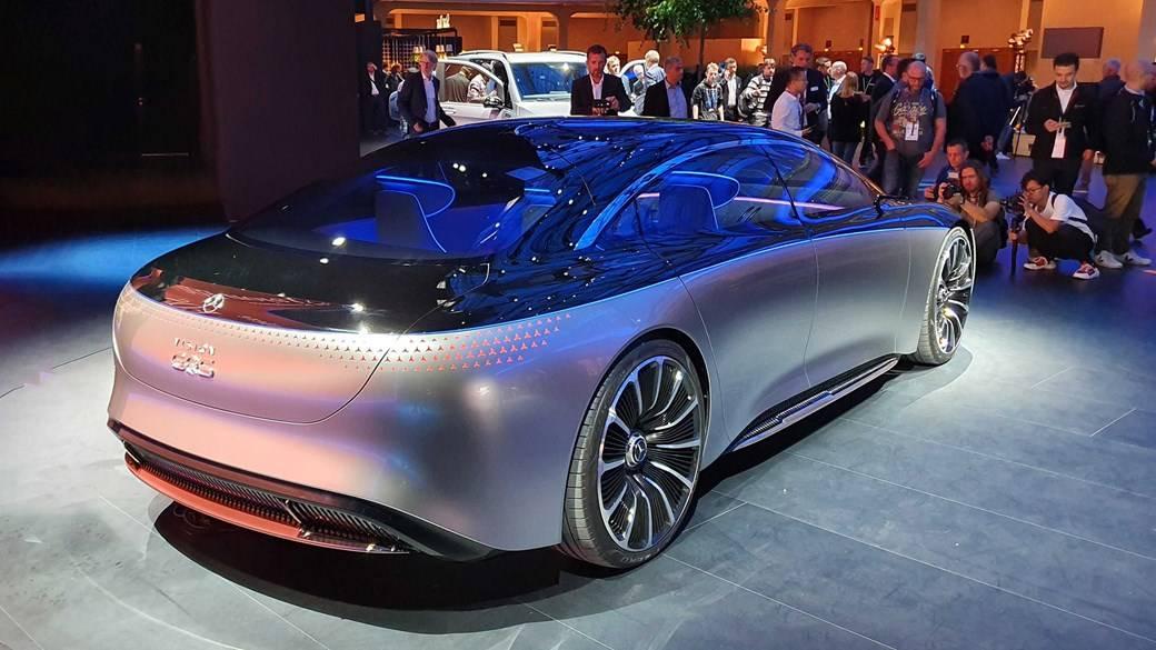 Mercedes electric vehicles