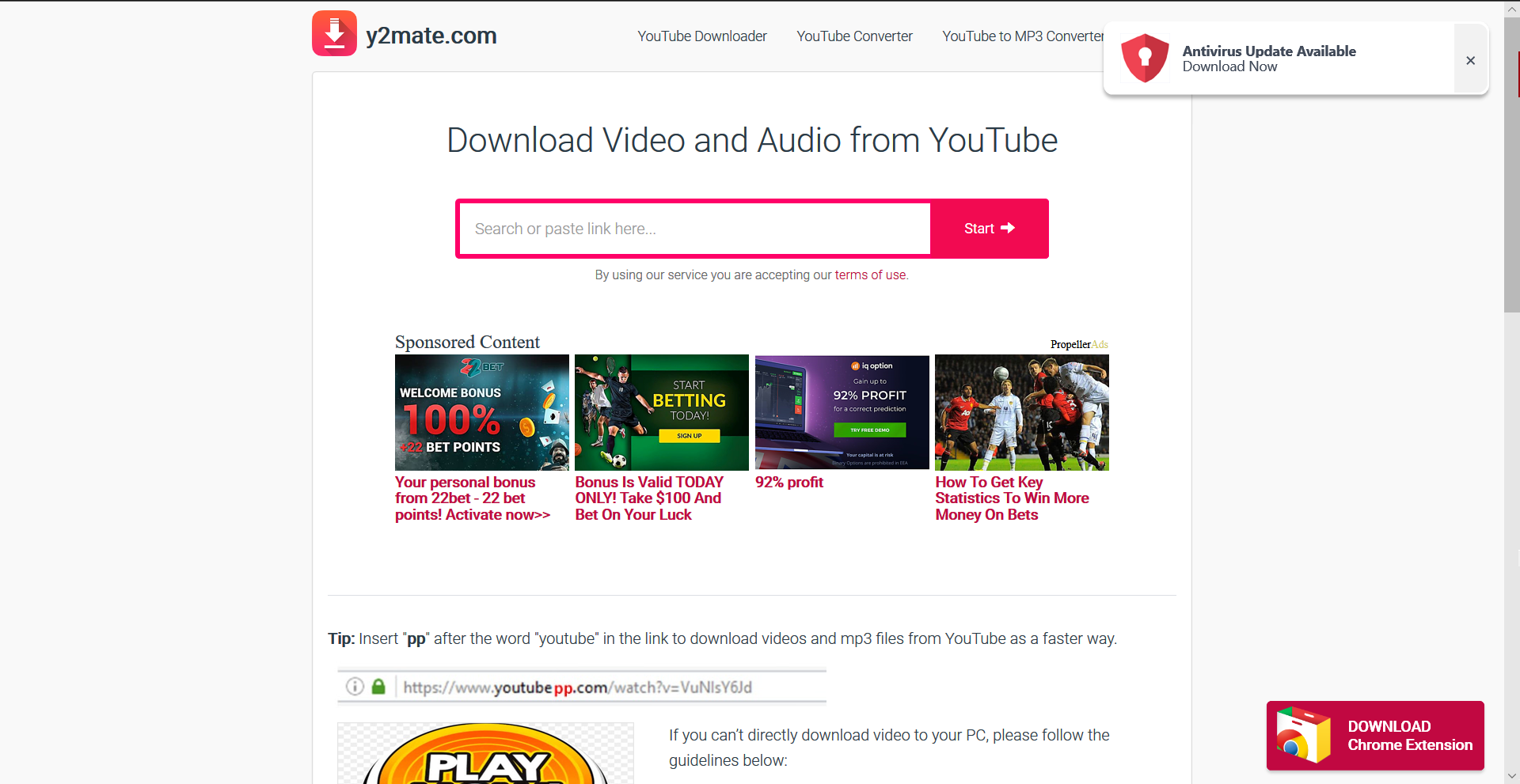 Y2mate Download Youtube