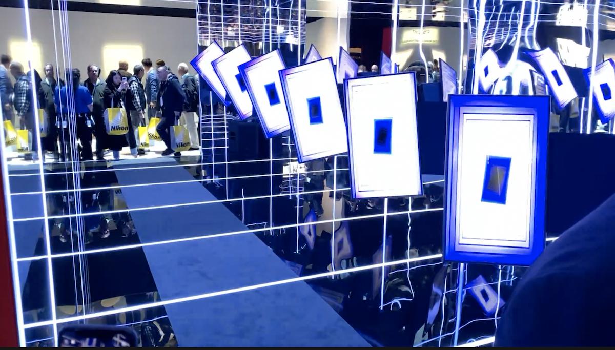 Samsung rotating tv CES 2020