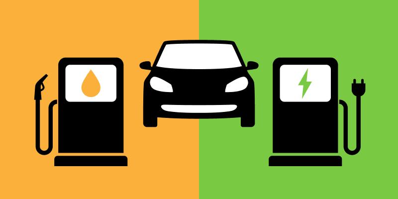 electric cars vs fuel cars