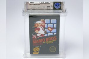 An Intact Copy of 1985 Super Mario Bros. Sells For KES 200 Mn